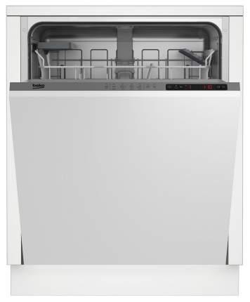 Встраиваемая посудомоечная машина Beko DIN24310 Белый