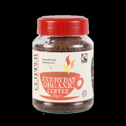 Кофе растворимый  Clipper гранулированный органик 100 г