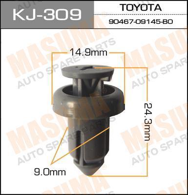 Клипса автомобильная Masuma KJ309