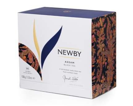 Чай черный Newby черный assam 50 пакетиков