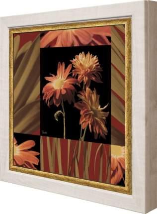 "Ключница ""Katrina Craven - Crimson Flowers"" Клен"