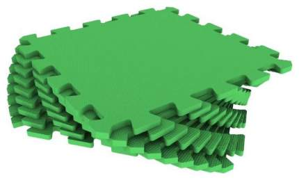 Мягкий коврик-пазл Eco Cover Зеленый 9 деталей 33х33 см