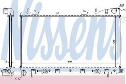 Радиатор Nissens 67712