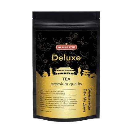 Чай Di Maestri серия китайский чай deluxe белый пион бай му дань 50 г