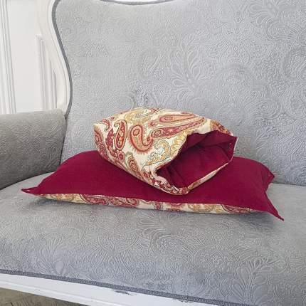 Подушка-трансформер для кормления и укачивания TI AMO МАМА Magic Pillow огурцы, малиновый
