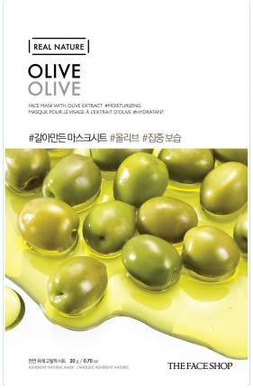 Маска для лица The Face Shop Real Nature Olive Face Mask 20 г