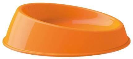 Одинарная миска для кошек и собак Georplast, пластик, оранжевый