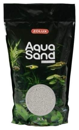 Песок Zolux Aquasand Trend Moonlight Grey для аквариума светло-серый, (3 л (4,72 кг))