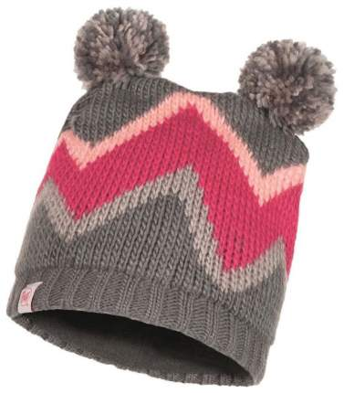 Шапка Buff Child Knitted & Polar Hat Arild серая One Size