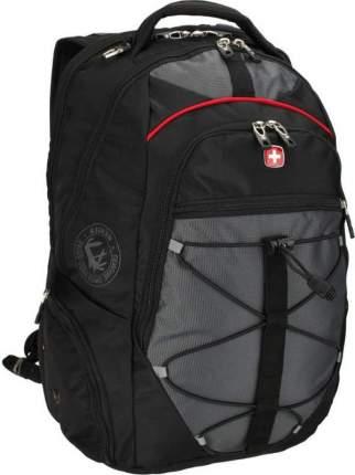 Рюкзак Wenger черный/серый 30 л