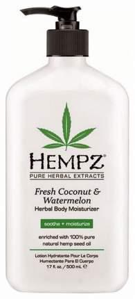 Молочко для тела Hempz Fresh Coconut & Watermelon Moisturizer 500 мл