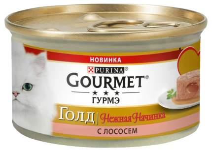 Консервы для кошек Gourmet Gold, лосось, 85г