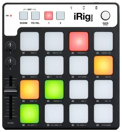 Драм контроллер IK Multimedia iRig Pads для iPhone iPod iPad JS-IPD-01M10