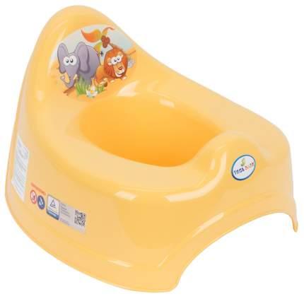 Горшок детский Tega Baby Сафари желтый