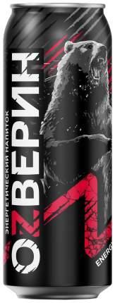 Напиток Озверин энергетический безалкогольный  тонизирующий 0.45 л