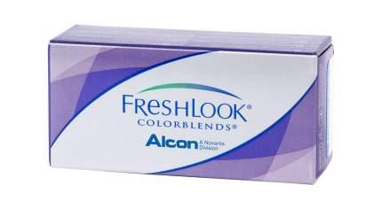 Контактные линзы FreshLook Colorblends 2 линзы 0,00 true sapphire