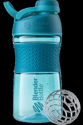 Шейкер Blender Bottle SportMixer Tritan Twist Cap 591 мл teal