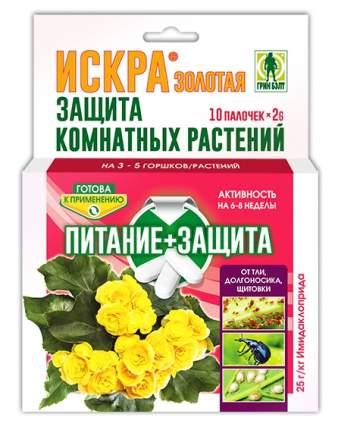 Палочки для защиты растений Искра Золотая 10 шт, Грин Бэлт