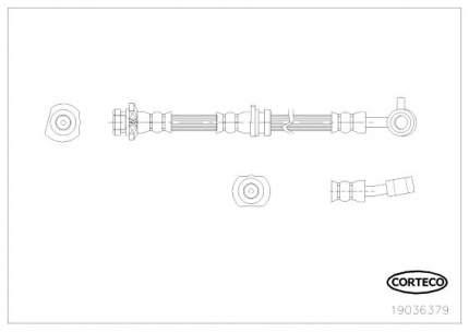 Шланг тормозной системы CORTECO 19036379