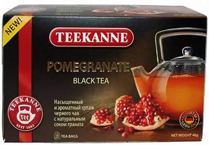 Чай черный Teekanne гранат 20 пакетиков