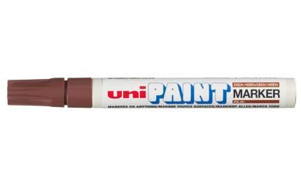 Маркер перманентный Uni Paint PX-20 2,2-2,8мм овальный (коричневый, 1 штука)