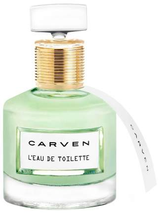 Туалетная вода Carven L'eau De Toilette 50 мл