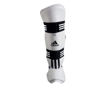 Защита голени и стопы Adidas для тхэквондо WTF Shin Instap Pad Protector белая XL