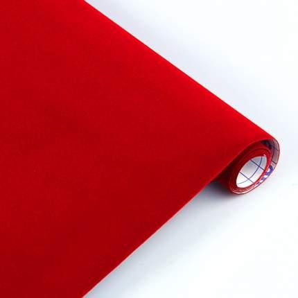 Sadipal Пленка бархатная самоклеящаяся SADIPAL, рулон 45х100см, Красный