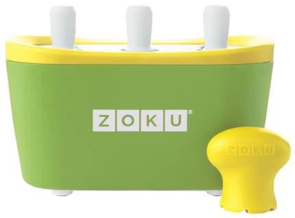 Форма для мороженого Zoku Triple Quick Pop Maker Зеленый