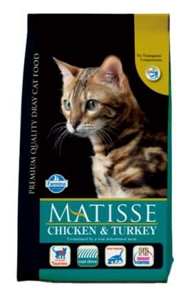 Сухой корм для кошек Farmina Matisse, курица, индейка, 10кг
