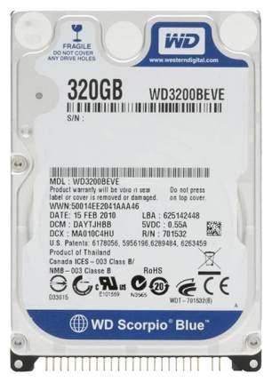 Внутренний жесткий диск Western Digital 320GB (WD3200BEVE)