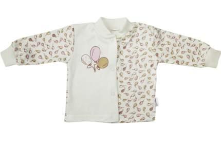 Кофта детская Папитто Воздушные шарики роз/экрю р.22-74 И420-25