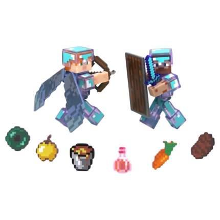 Набор фигурок Jazwares Games: Minecraft: Steve and Alex