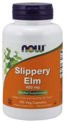 Для пищеварения NOW Slippery Elm 400 мг 100 капсул