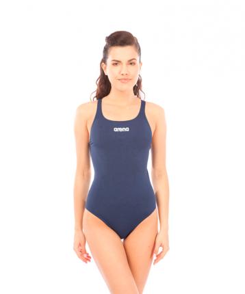 Купальник Arena Solid Swim Pro, navy/white, 40 RU