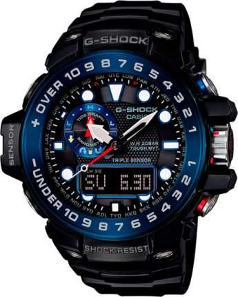 Японские наручные часы Casio G-Shock GWN-1000B-1B с хронографом