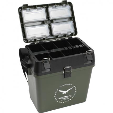 Ящик рыболовный зимний Mikado пластиковый ABM-317