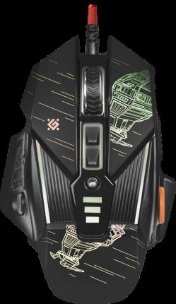 Игровая мышь Defender sTarx GM-390L (52390) Black (52390)