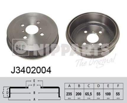 Тормозной барабан NIPPARTS J3402004