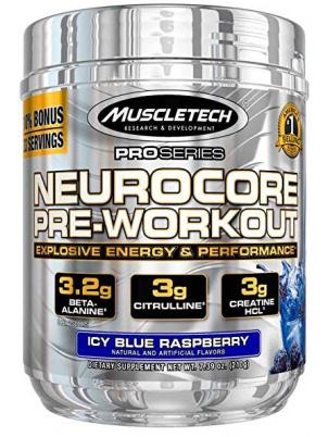 Muscletech MT Neurocore Pre-Workout 210g (210 г), Ледяная голубая малина