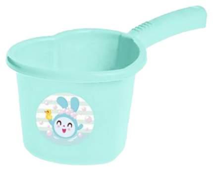 LITTLE ANGEL Ковшик для детской ванночки Little Angel Малышарики (бирюзовый) LA1133