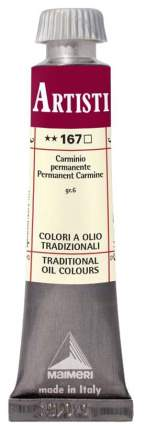 Масляная краска Maimeri Artisti M0102167 кармин ализариновый 20 мл