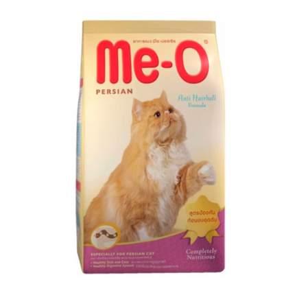 Сухой корм для кошек Me-O Persian, персидская, домашняя птица, 2,8кг
