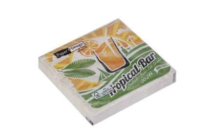 Салфетки трёхслойные Hoff Тропический бар