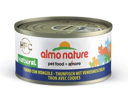 Консервы для кошек Almo Nature HFC Natural, морепродукты, тунец, 70г