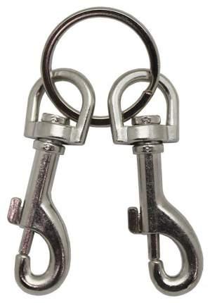 Два карабина Podium на металлическом кольце