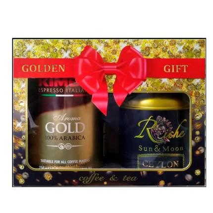 Подарочный набор кофе Kimbo golden gift