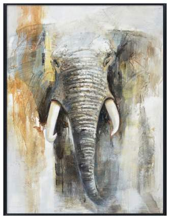 Репродукция в раме 80x120 см Hoff Большой слон