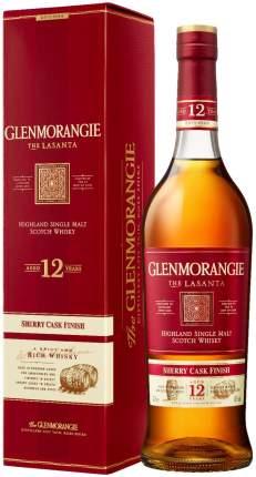 Виски Glenmorangie The Lasanta  in gift box 0.7 л