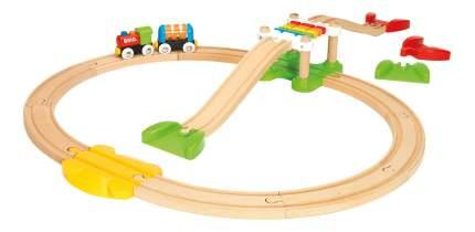 Моя первая деревянная Железная дорога Brio для самых маленьких Новичок 33727